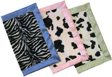 Custom Classic Animal Print Travel Silky