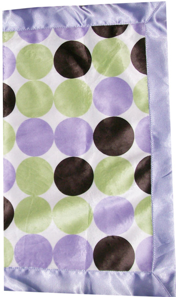 Lilac Mod Dots Travel Silky