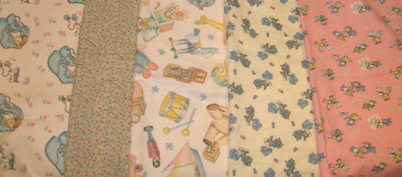 Travel Silkys in Baby Vintage Prints Click to see more