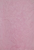 Paisley Pink Minky