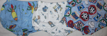 Assorted Four Boys Diaper covers 9.99