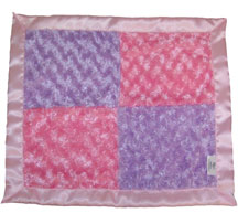 Travel Silky IN Lilac & Pink Fuzzy Patch
