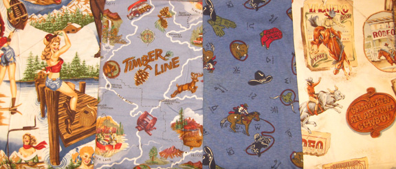 Travel Silkys in Boys Vintage Style Prints Click to see more