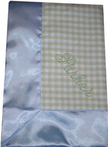 Travel Silkys in Gingham Flannel Travel In stock ready to ship