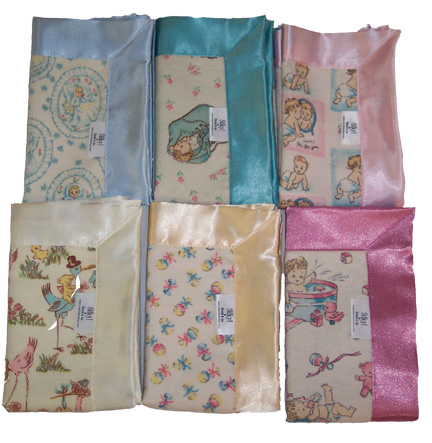 Limited Edition Blankets in  Vintage Baby Collection 50% off